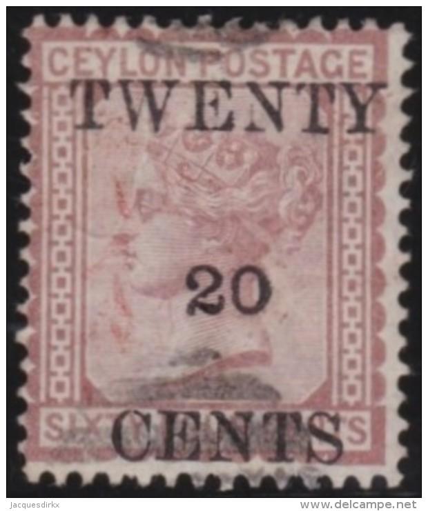 Ceylon        .    SG     .    143      .       O      .   Gebruikt    .    /  .   Cancelled - Ceylon (...-1947)