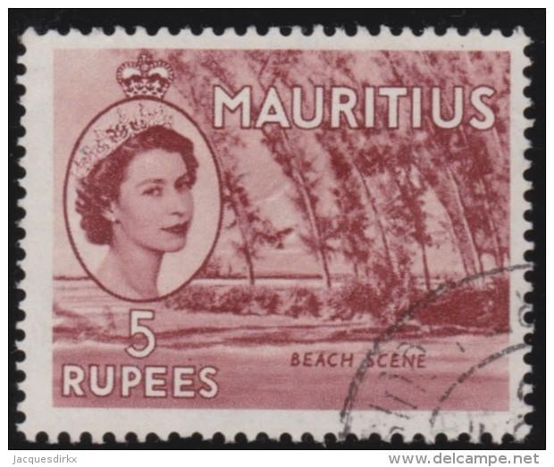 Mauritius       .    SG     .     305     .       O      .   Gebruikt    .    /  .   Cancelled - Mauritius (...-1967)