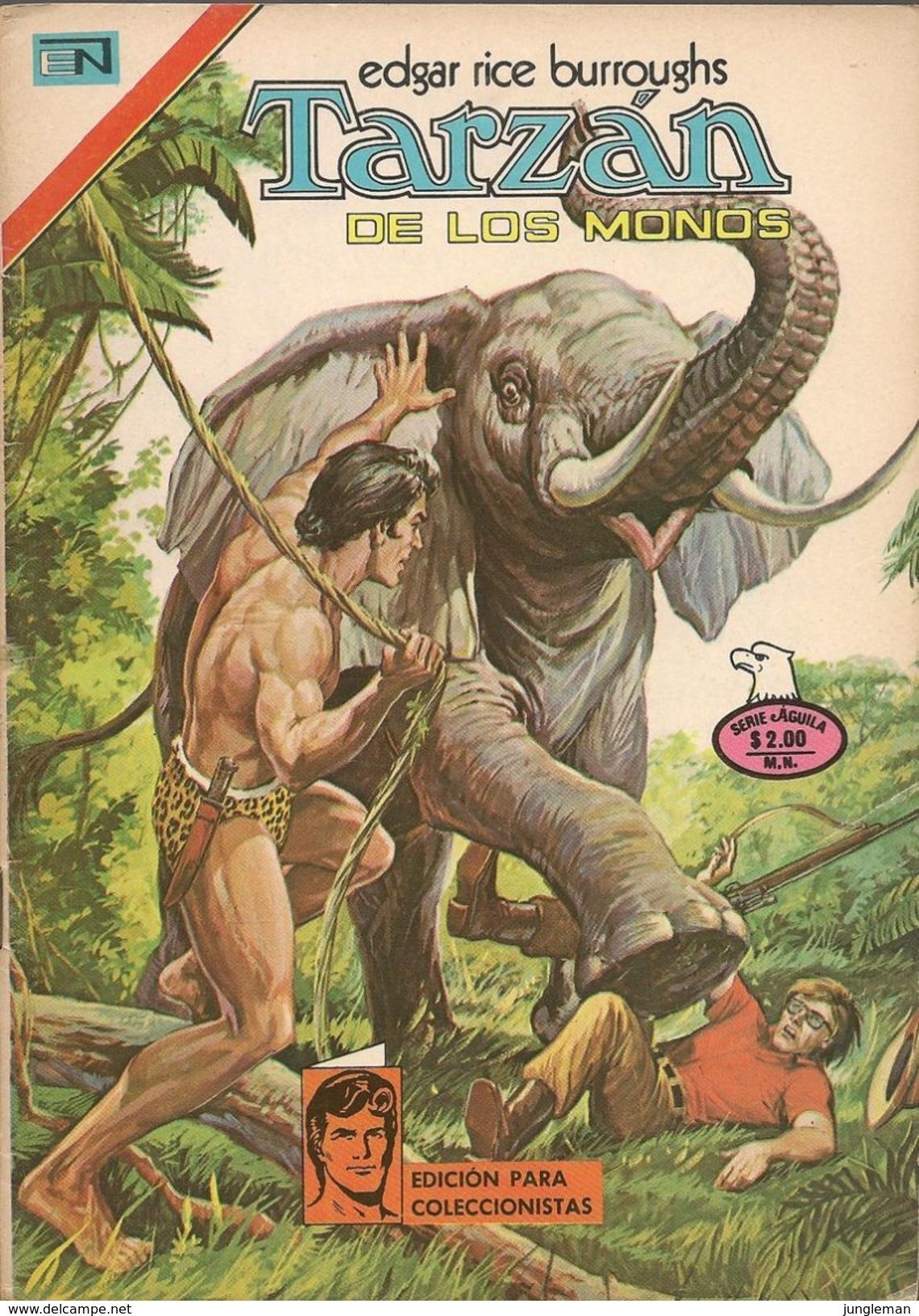 Tarzan - Serie Aguila, Año XXV N° 460 - 6 Septembre 1975 - Editorial Novaro - México Y España - Semanal En Color. - Autres