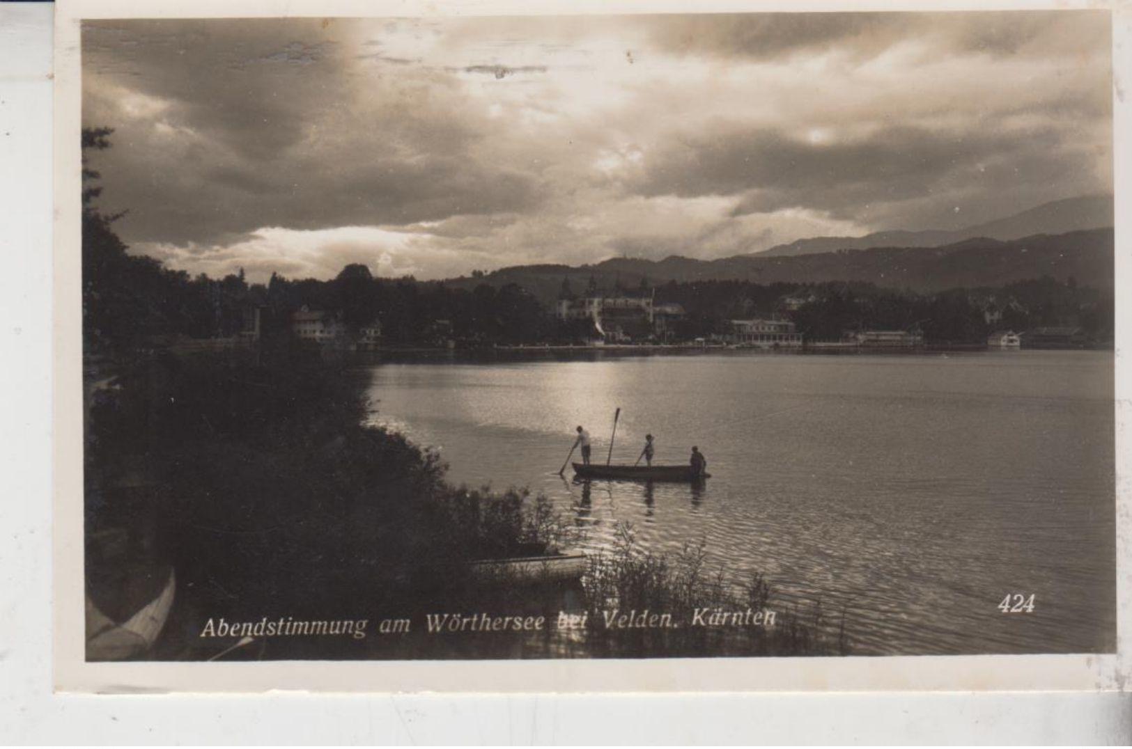 Abendstimmung Am Wörthersee - Motiv Um 1932 - Klagenfurt