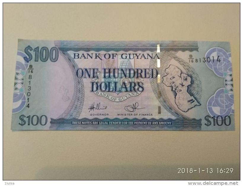 100 Dollars 2005 - Guyana