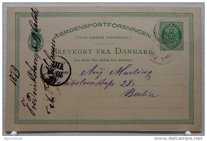 Ganzsache 10 Öre Von 1879 - Briefe U. Dokumente