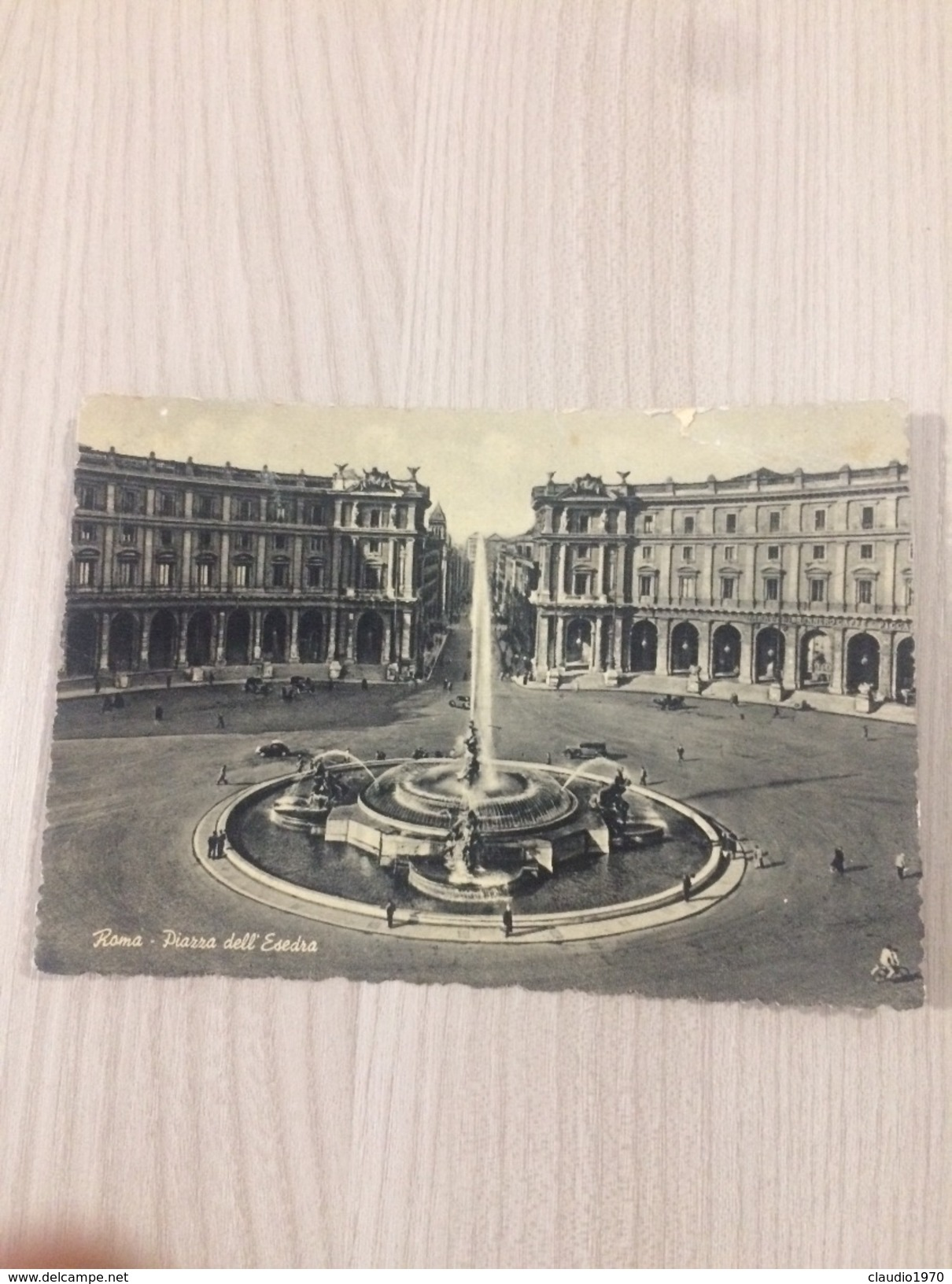 Cartolina-Roma- Piazza Dell'Esedra - Places & Squares