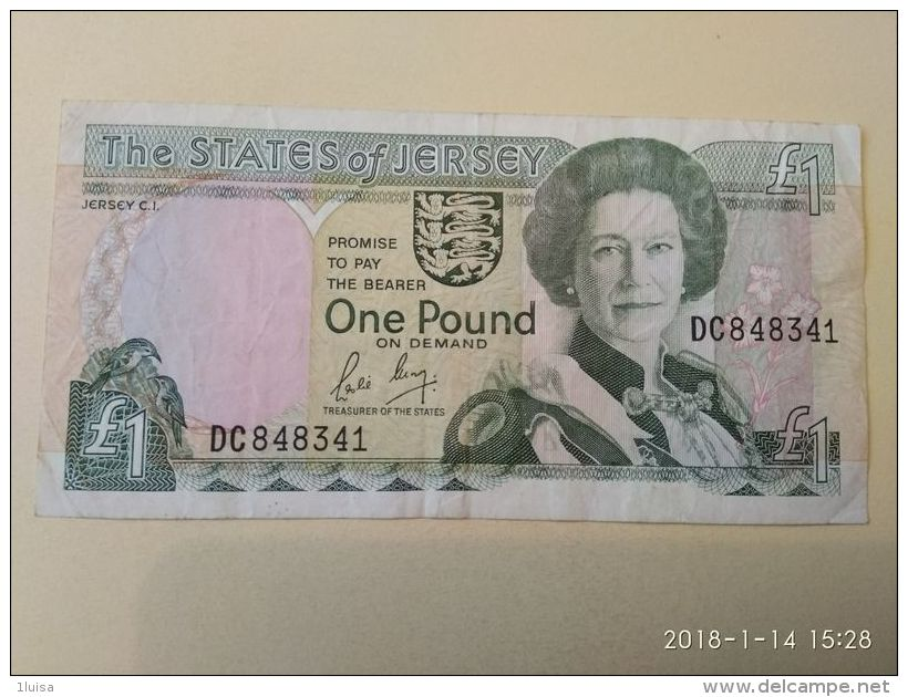 1 Pound 1989-2004 - Jersey