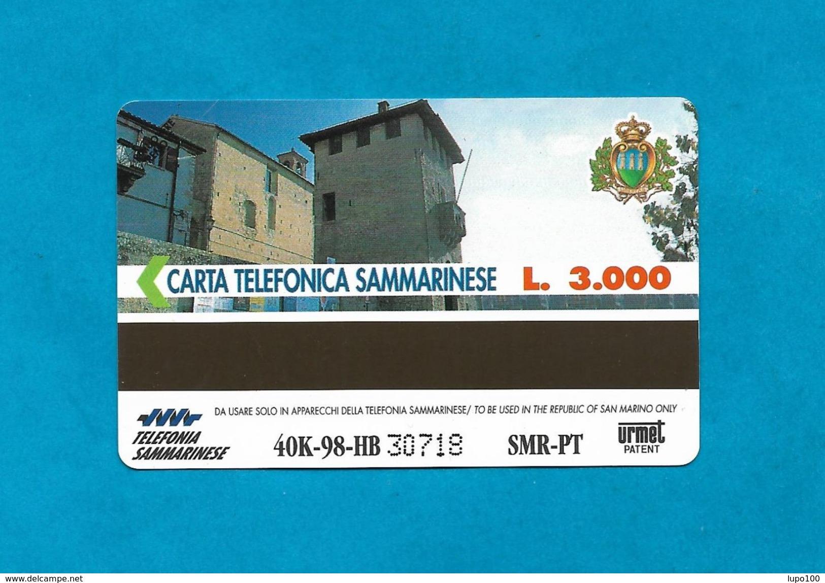 SAN MARINO SCHEDA TELEFONICA NUOVA NEW PHONECARD 40 - SEGNI ZODIACALI LEONE - San Marino