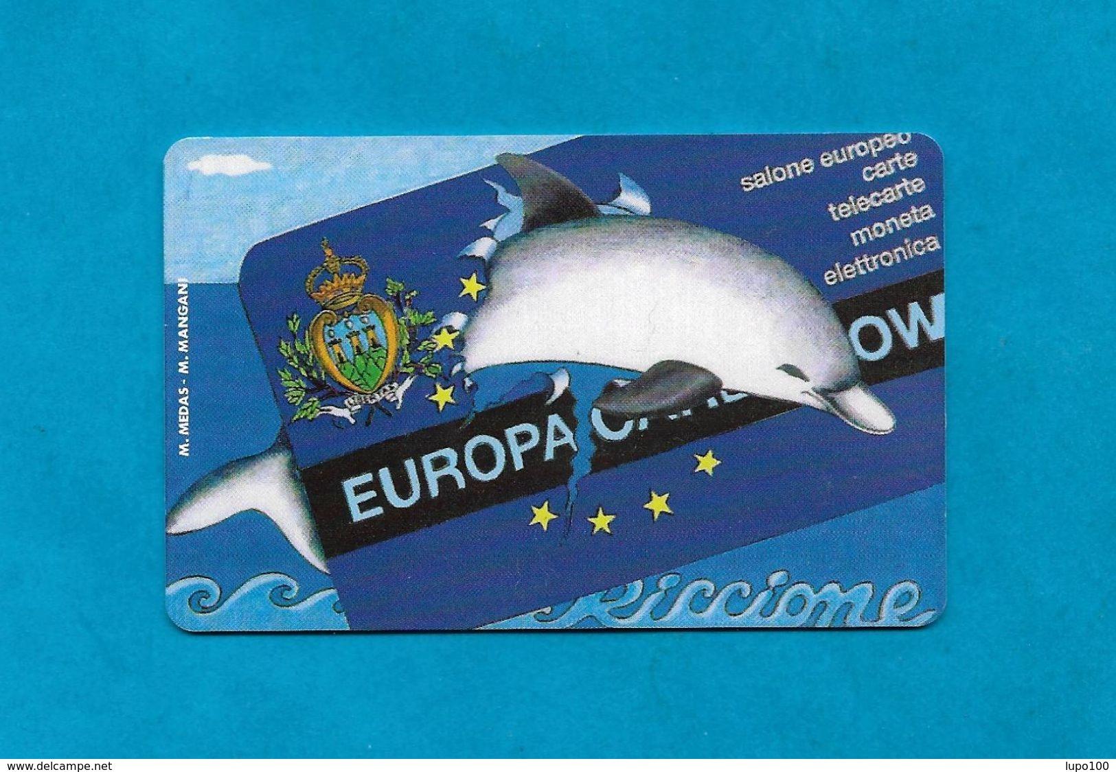 SAN MARINO SCHEDA TELEFONICA NUOVA NEW PHONECARD 30 - EUROPA CARD SHOW DELFINO - San Marino