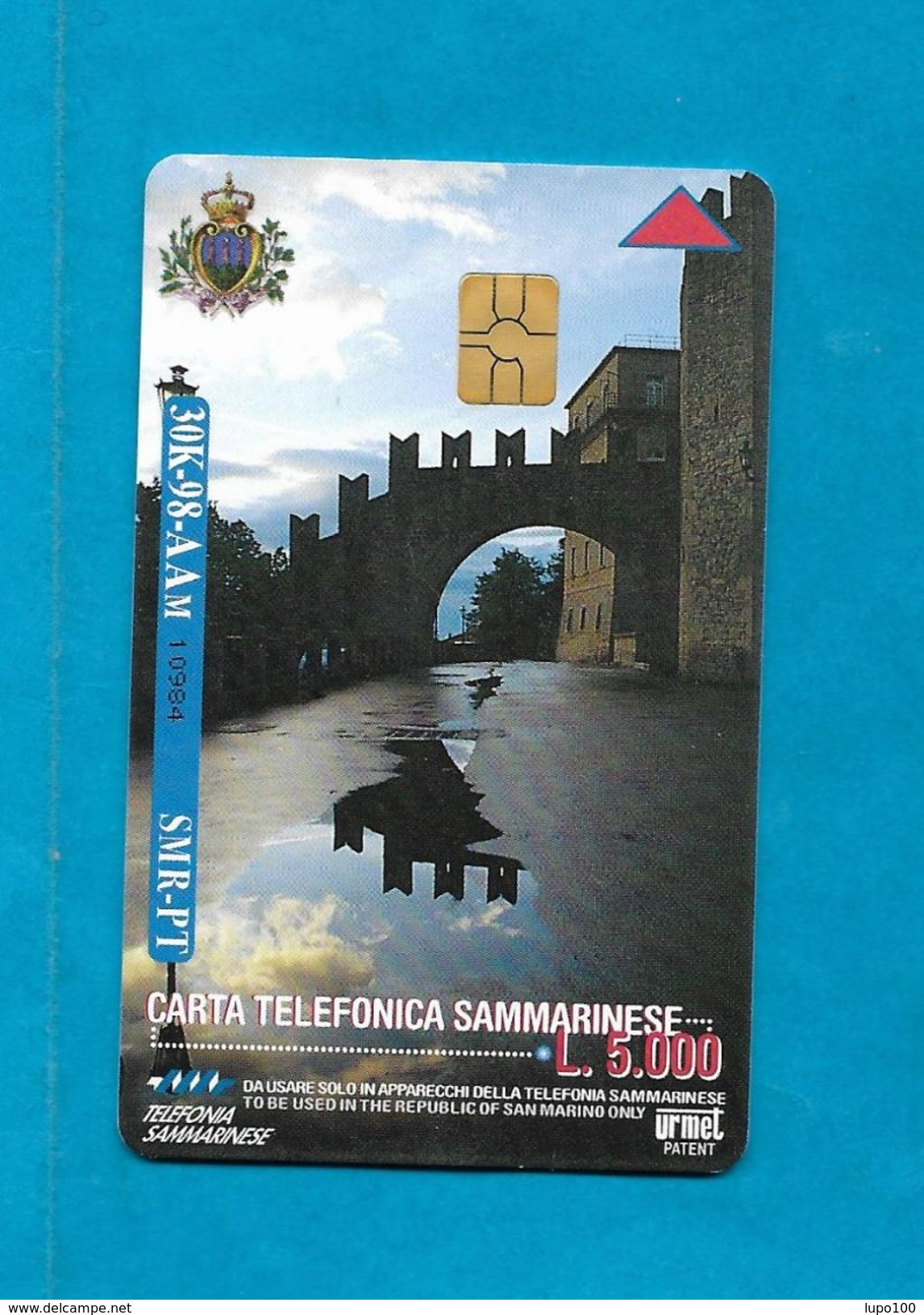SAN MARINO SCHEDA TELEFONICA NUOVA NEW PHONECARD 30 - MEETING PER L'AMICIZIA FRA I POPOLI RIMINI 98 - San Marino
