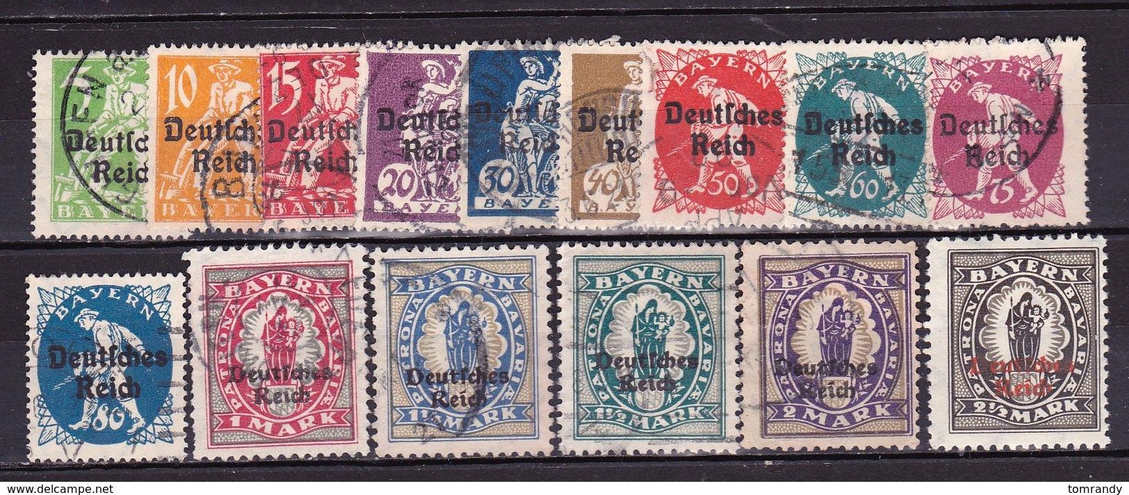 Deutsches Reich 1920 Auf Bayern. Michel: € 45 - Deutschland