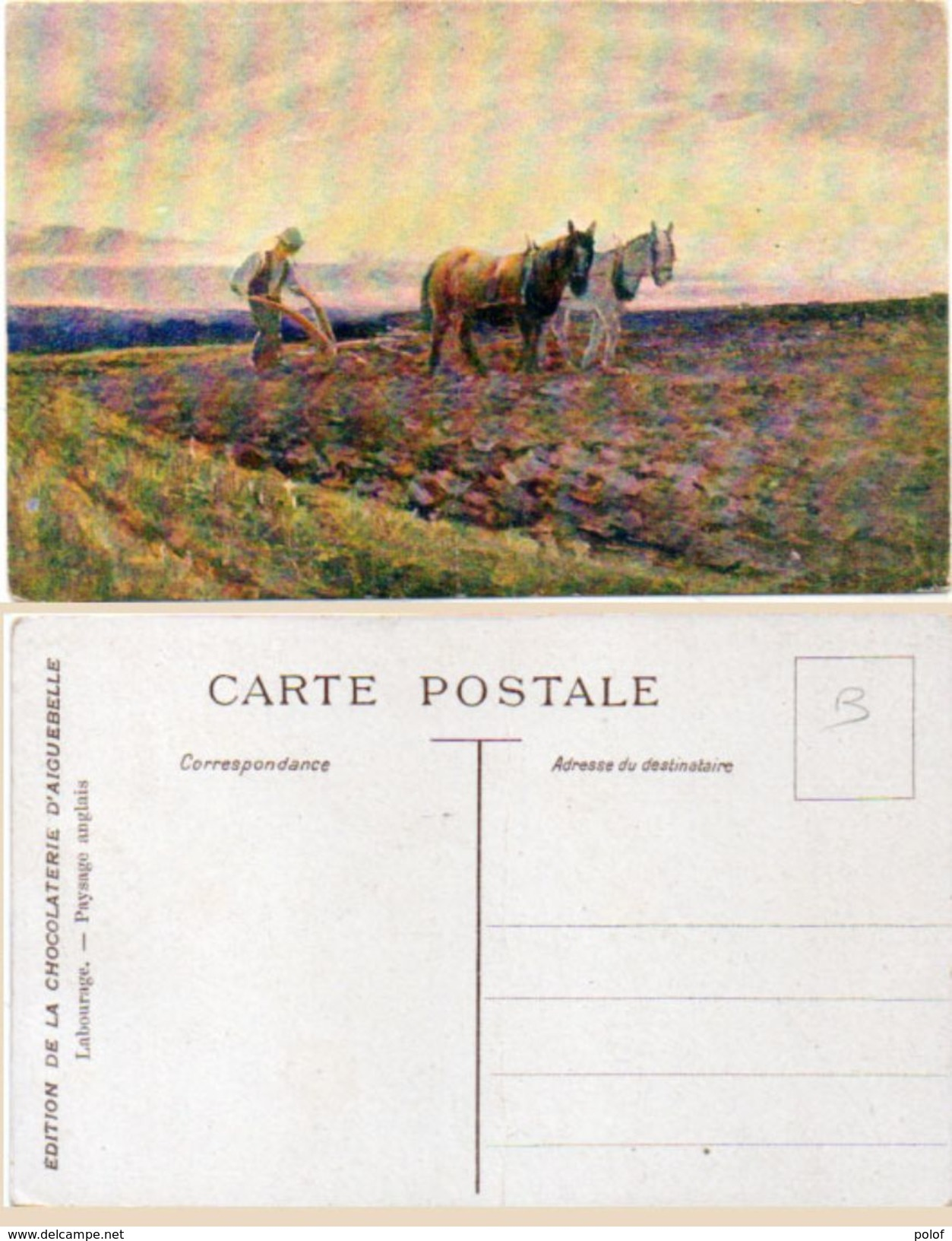 Labourage - Paysage Anglaid - Pub : Chocolaterie D' Aiguebelle   (101692) - Equipaggiamenti