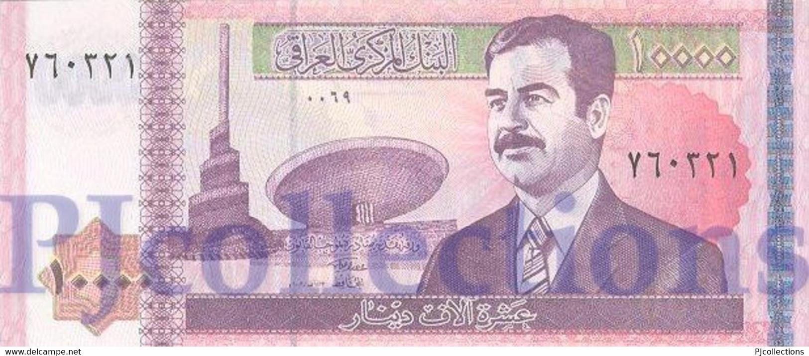 IRAQ 10.000 DINARS 2002 PICK 89 UNC - Iraq
