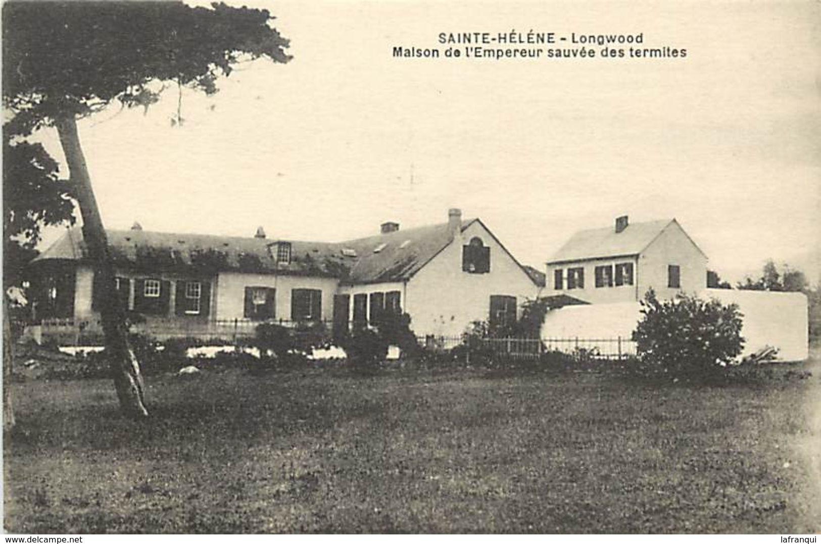 Pays Div-ref L14- Sainte Helene - Ste Helene - Longwood -maison De L Empereur Sauvée Des Termites - - St. Helena