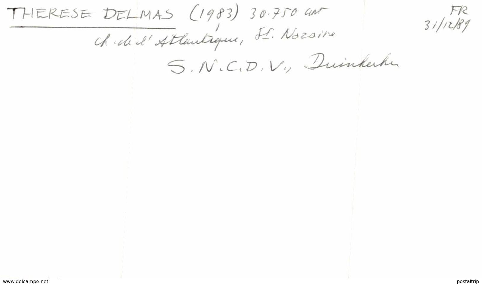 DELMAS THERESE FRANCIA 13* 9 CM Bateau, Barco,  Bateaux, NaviRE - Barcos