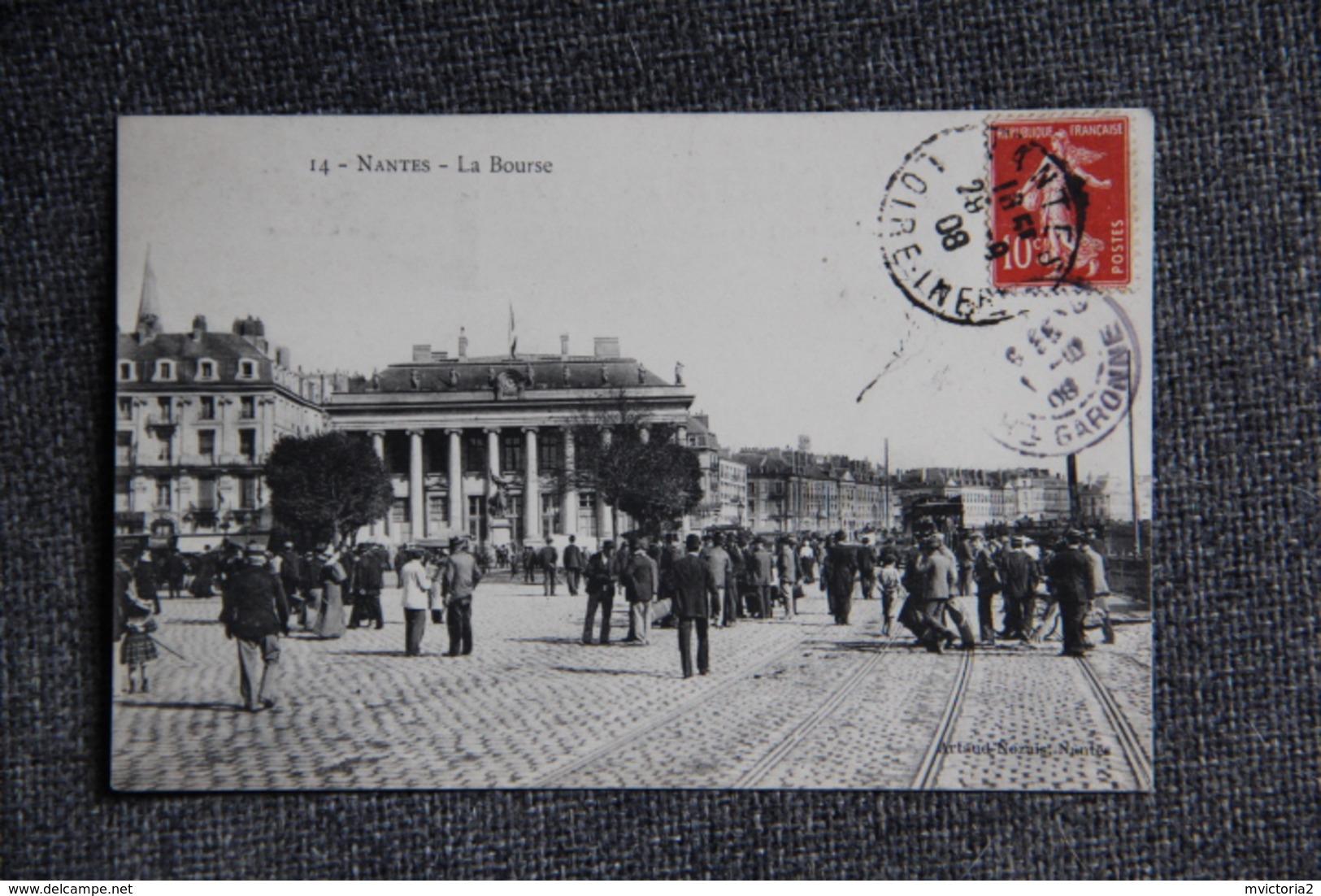 NANTES - La Bourse ( Tramway) - Nantes