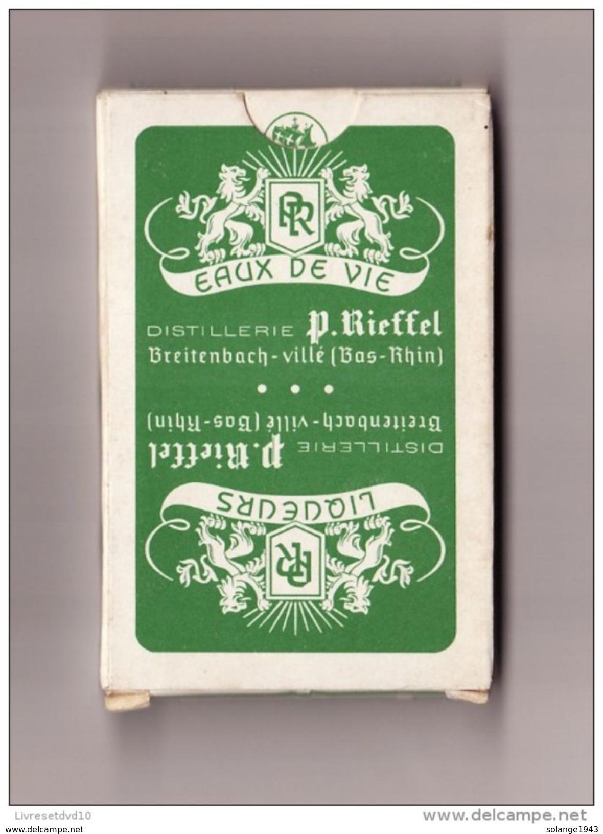 JEU DE CARTES Publicité Distillerie Rieffel BREITENBACH ( TTB ETAT Comme Neuf Jamais Joué) - France