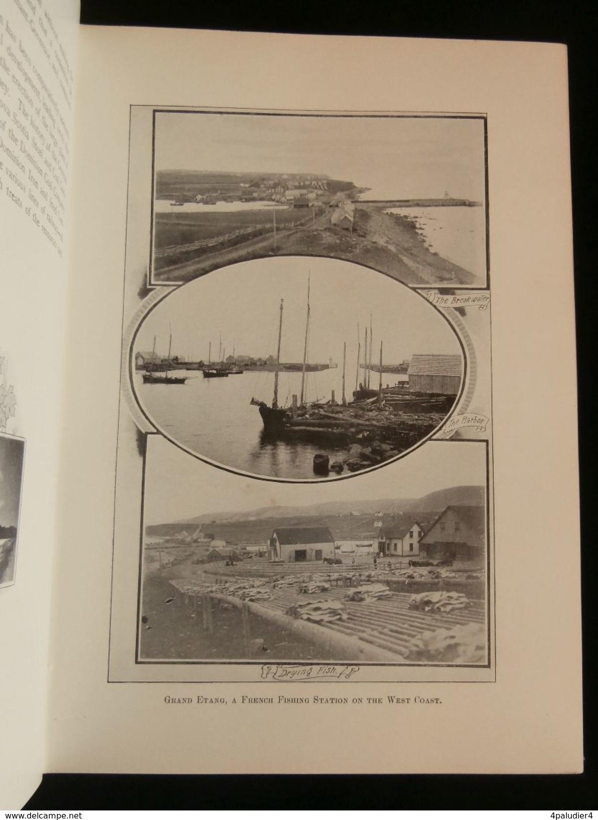 CAPE BRETON CANADA Par C. W. VERNON 1903 - Livres, BD, Revues
