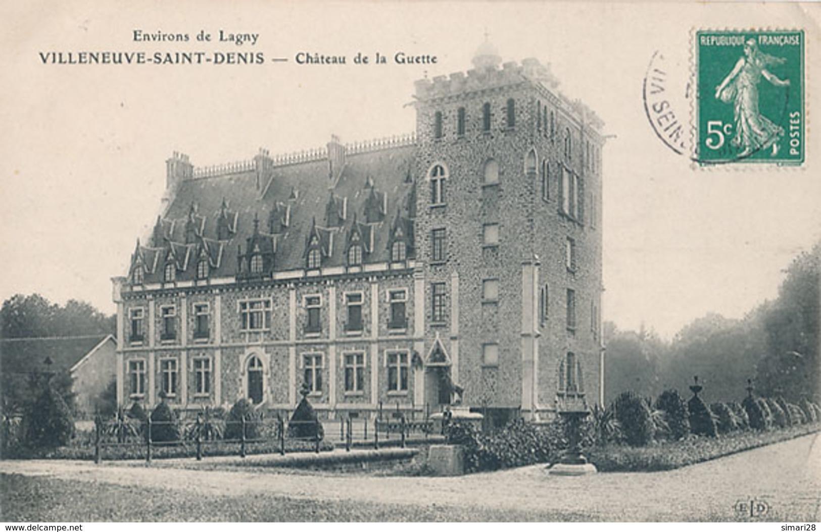 VILLENEUVE SAINT DENIS - CHATEAU DE LA GUETTE - France