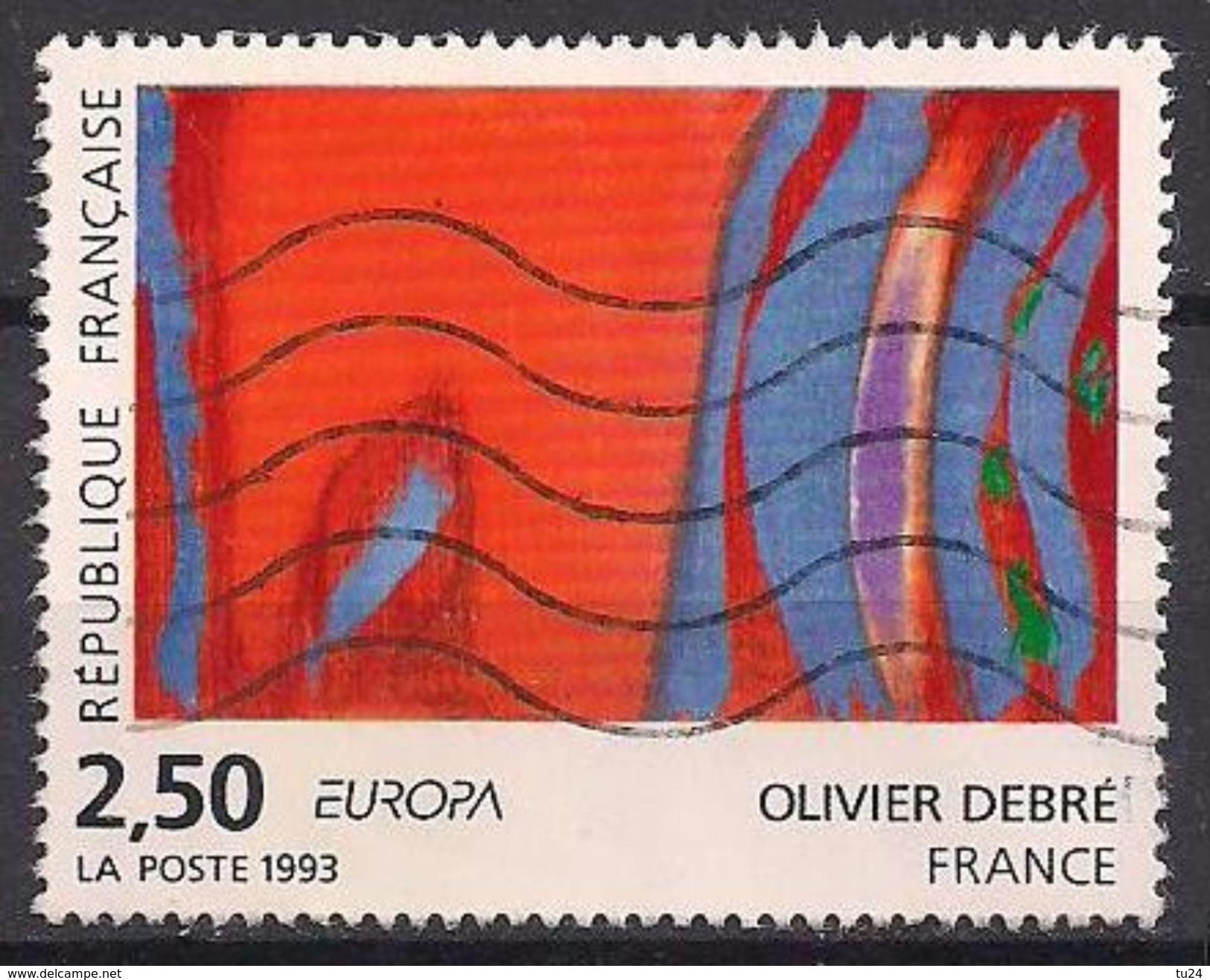 Frankreich  (1993)  Mi.Nr.  2943  Gest. / Used  (4ew12)  EUROPA - Frankreich