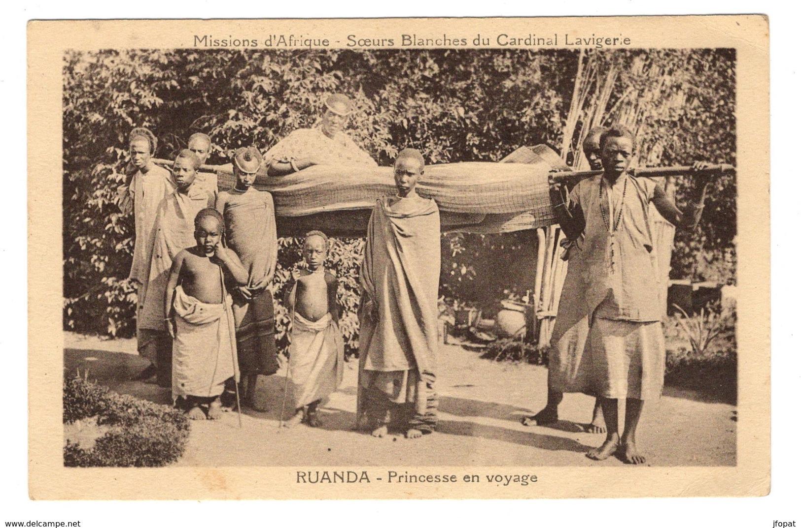 RUANDA URUNDI - Princesse En Voyage - Ruanda-Urundi