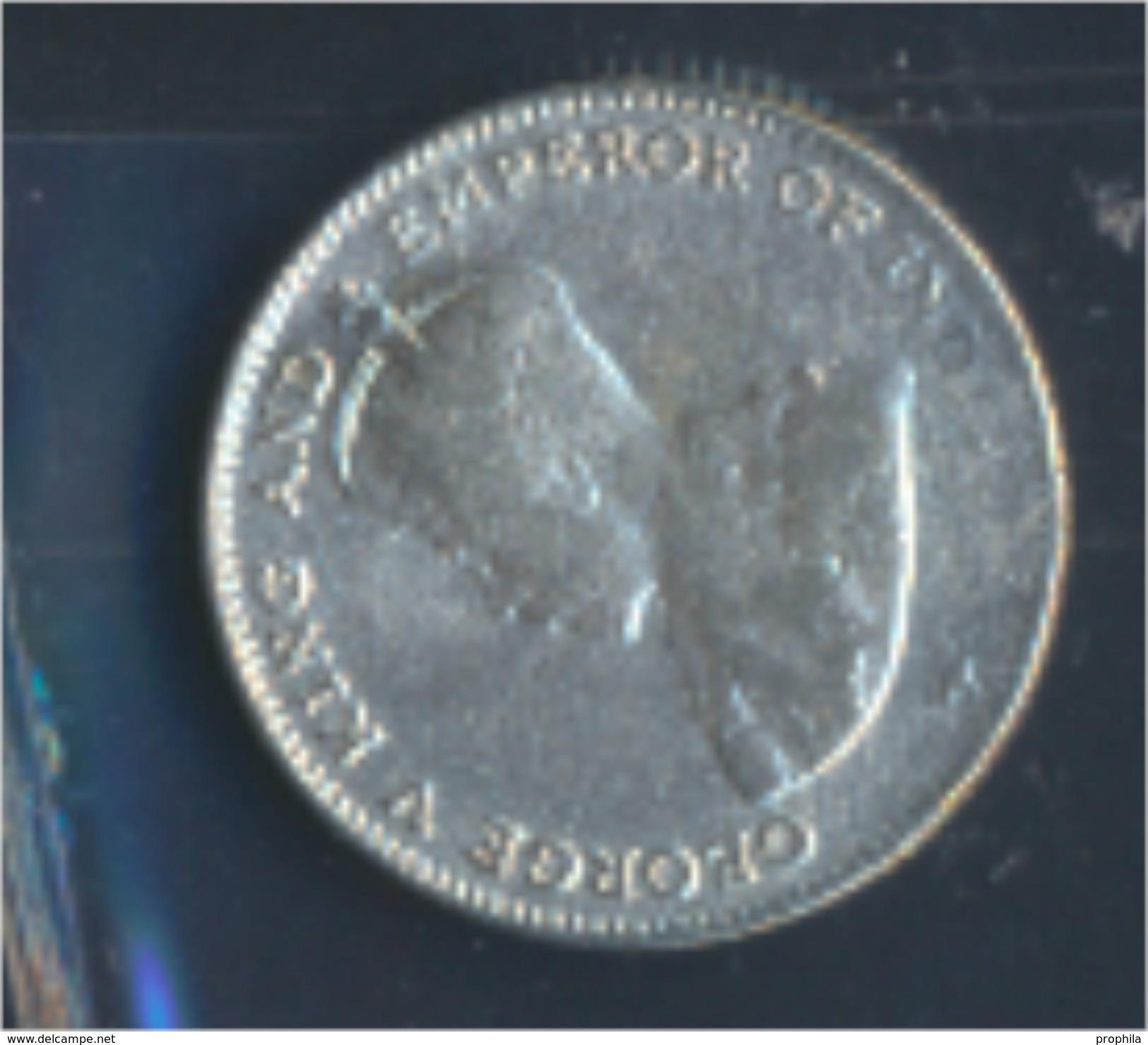 Straits Settlements KM-Nr. : 29 1918 Sehr Schön Silber 1918 10 Cents George V. (8977151 - Malaysie