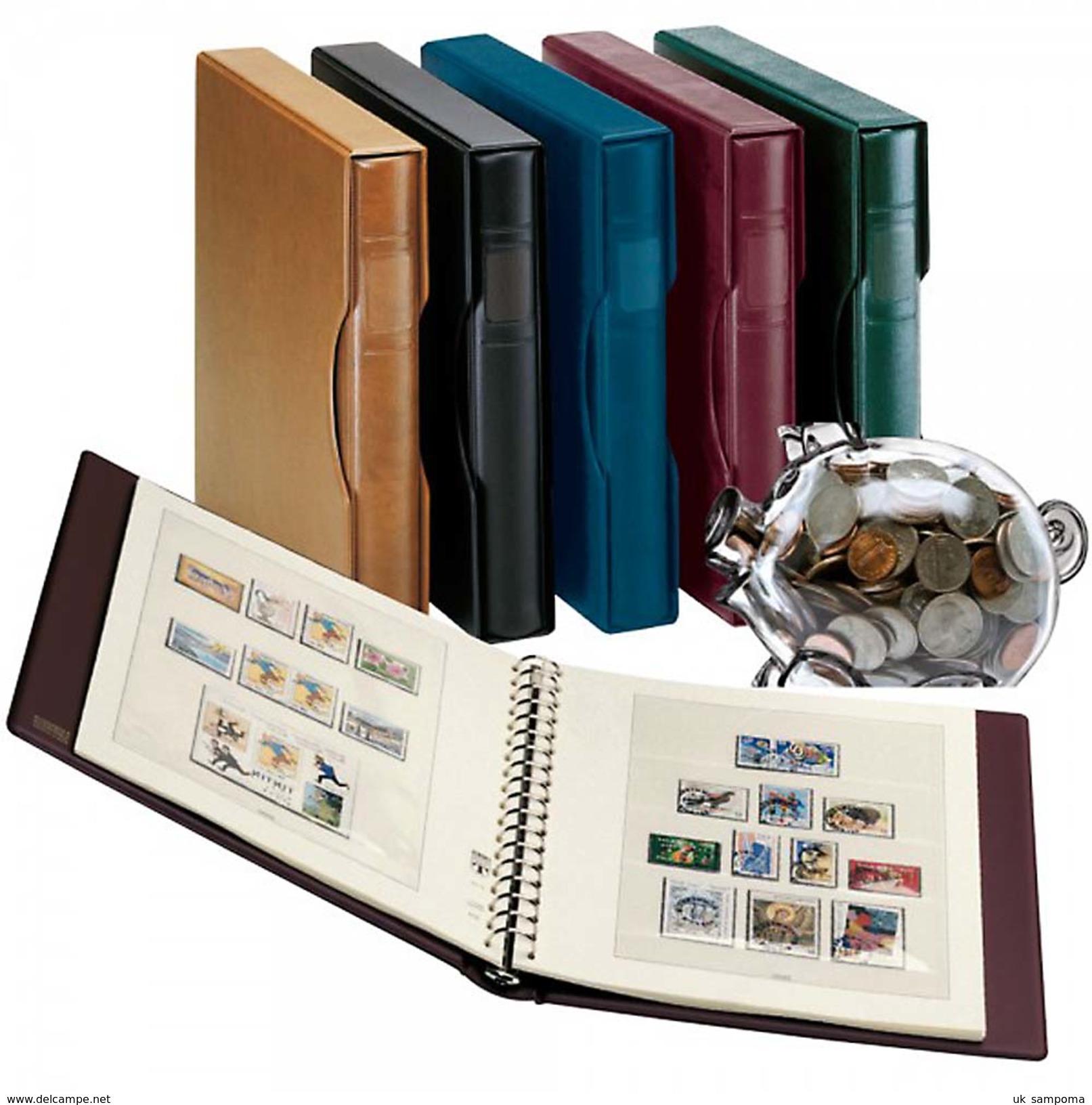 Lindner 121-1124V Germany Complete Offer East Germany GDR - Illustrated Album Pages Year 1949-1990, Incl. Ring Binder Se - Albums & Binders
