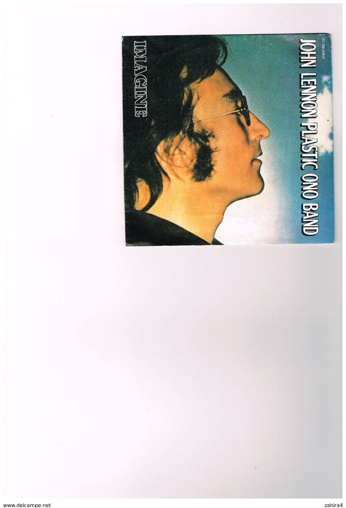 John Lennon Plastic Ono Band  Imagine  It's So Hard - 2C 008 04940  PM 100 - Disco, Pop