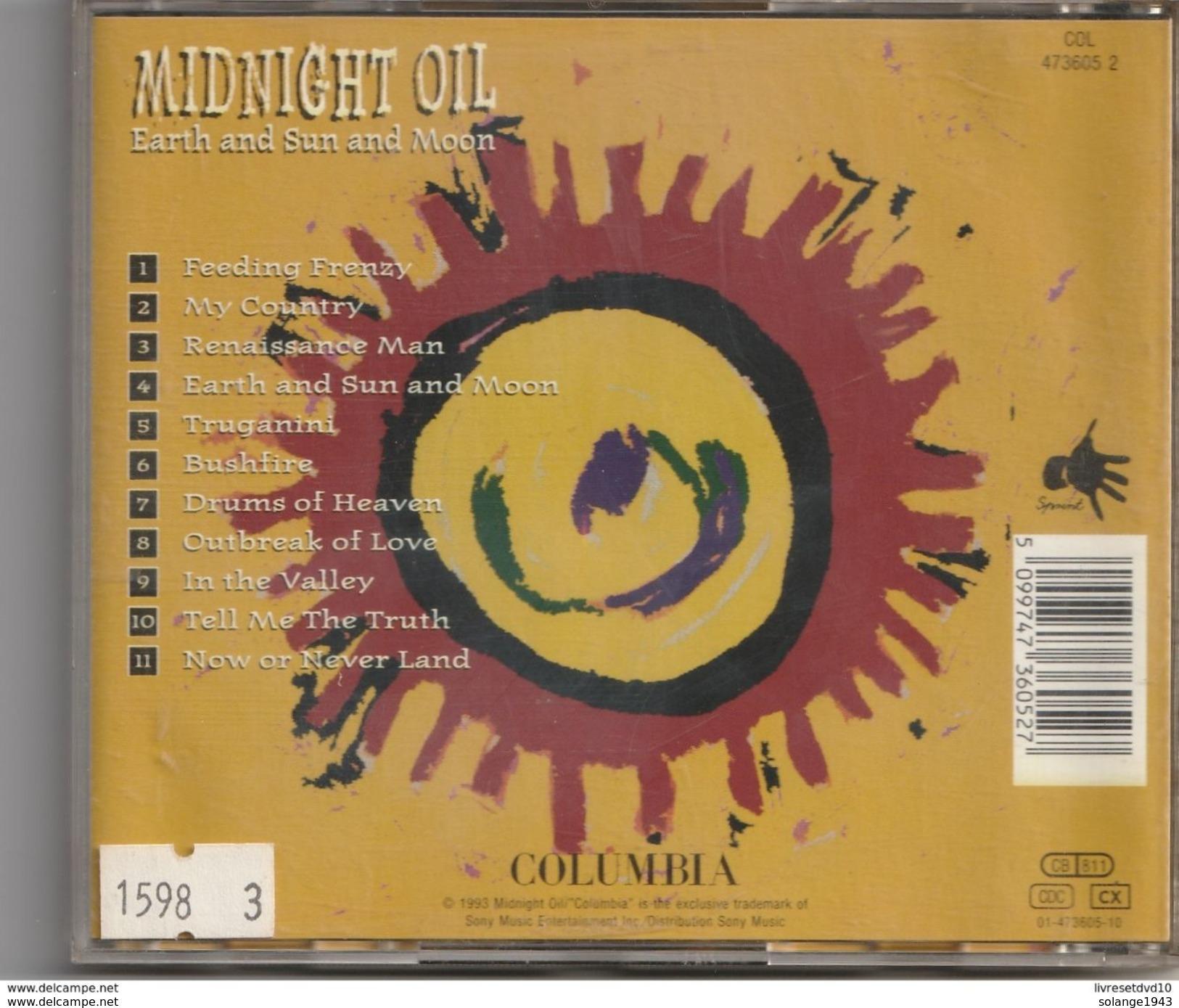 Cd MIDNIGHT OIL Earth And Sun And Moon   Etat: TTB Port 110 Gr Ou 30gr - Hard Rock & Metal