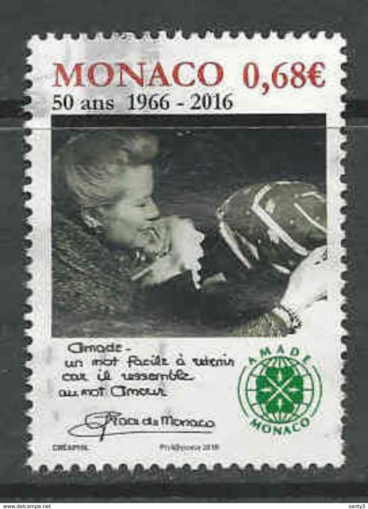Monaco, Yv 3051 Année 2016, Oblitéré, Voir Scan - Used Stamps