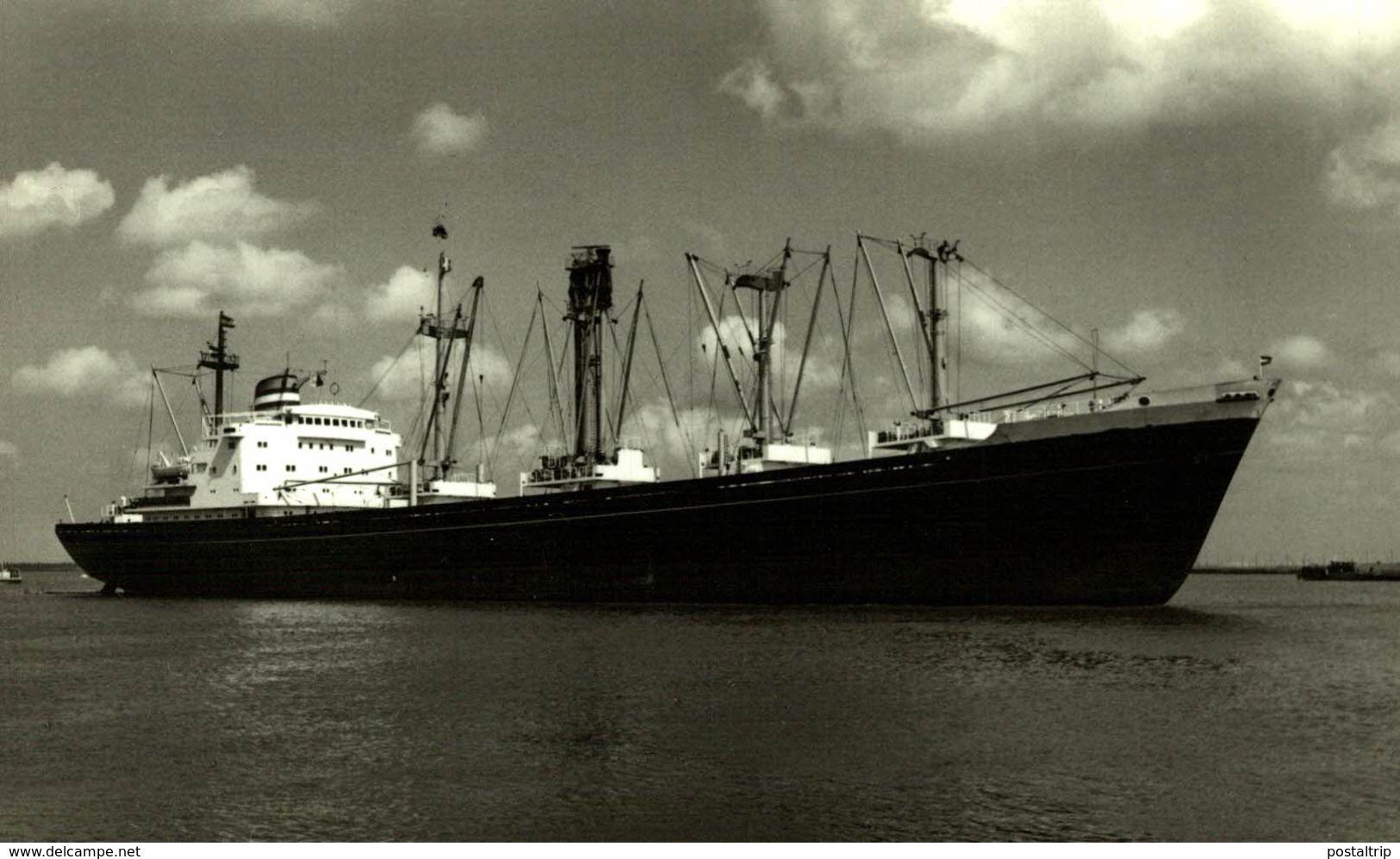 GORREDIJK    NASM AMSTERDAM    13* 9 CM    Bateau Barco Bateaux, CARGERO Nederland Paises Bajos HOLLAND - Barcos