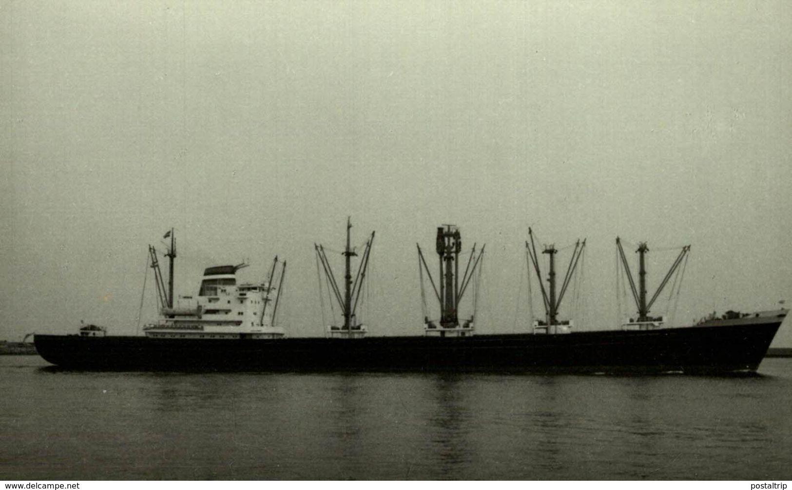 GROTEDIJK  NASM AMSTERDAM    13* 9 CM    Bateau Barco Bateaux, CARGERO Nederland Paises Bajos HOLLAND - Barcos