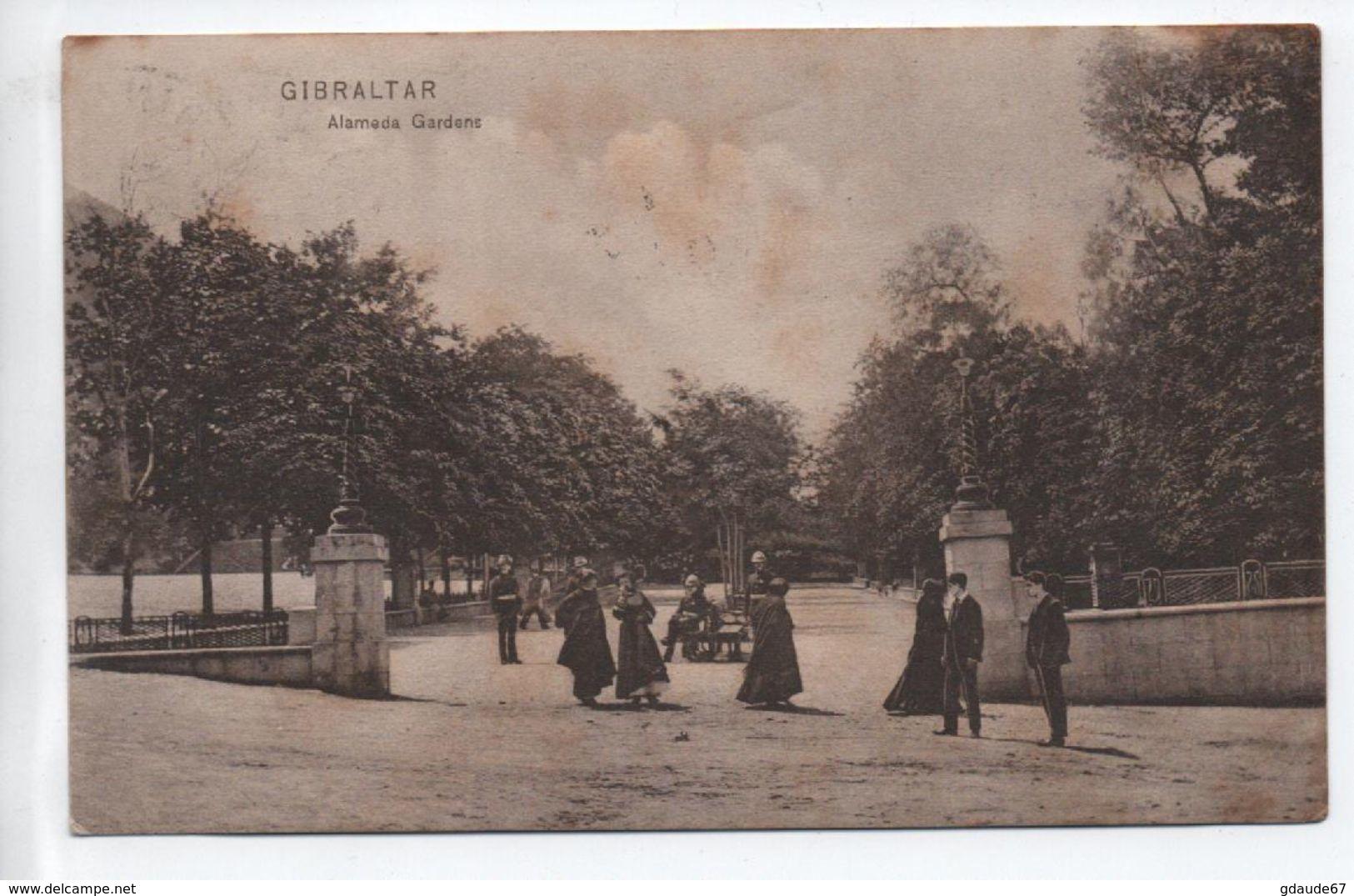 GIBRALTAR - ALAMEDA GARDENS - Gibraltar