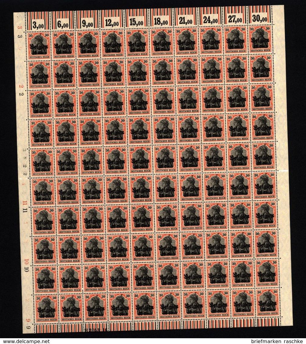 Belgien,19,Bogen,xx ( M6) - Besetzungen 1914-18