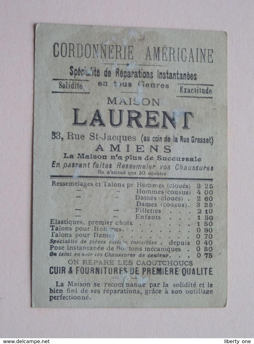 Maison LAURENT Rue St. Jacques 33 - AMIENS ( Cordonnerie Américaine ) L'Africaine ( Voir Photo ) ! - Publicités