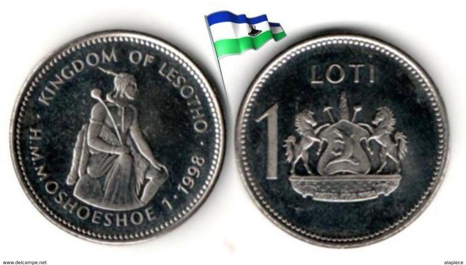 Lesotho - 1 Loti 1998 (UNC) - Lesotho