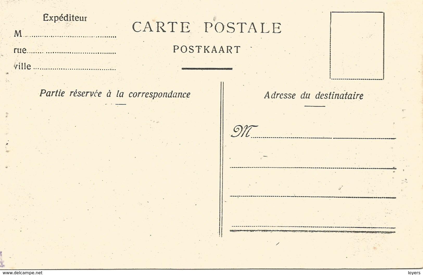 SART-LEZ-SPA. La Hoëgne. Les Baignoires.  (scan Verso) - Jalhay