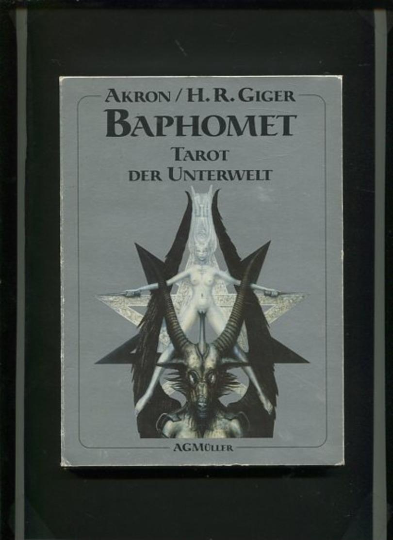 Baphomet, Tarot Der Unterwelt. - Alte Bücher