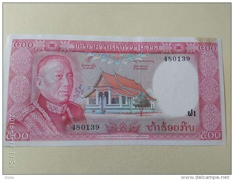 500 Kip 1974 - Laos