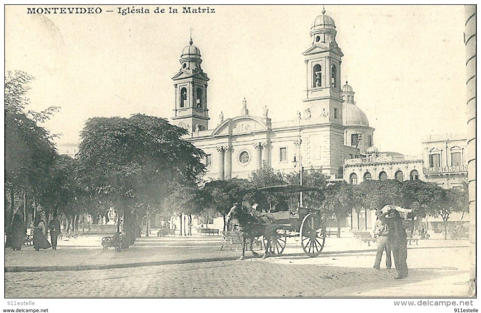 Uruguay  MONTEVIDEO  -    Iglésia  De La Matriz - Uruguay