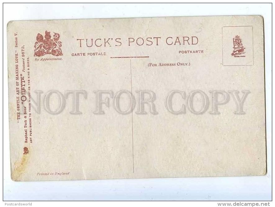202639 Gentle Art Of Making Love COMIC Vintage TUCK #9573 PC - Illustrators & Photographers