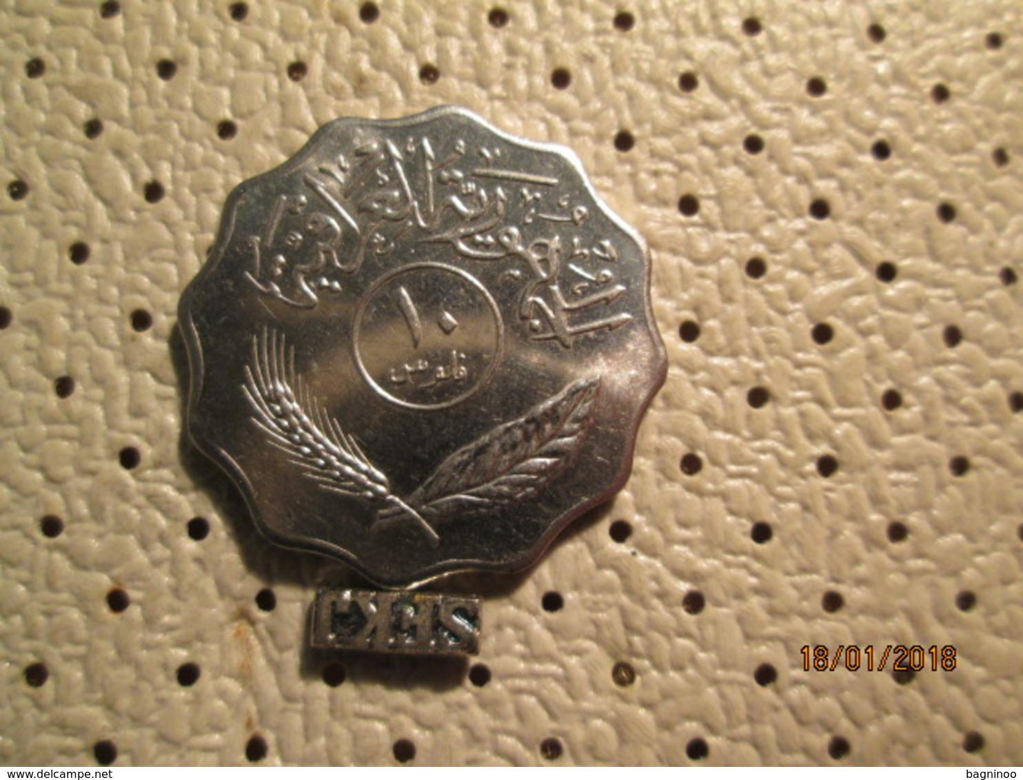 IRAQ 10 Fils 1971  # 1 - Iraq