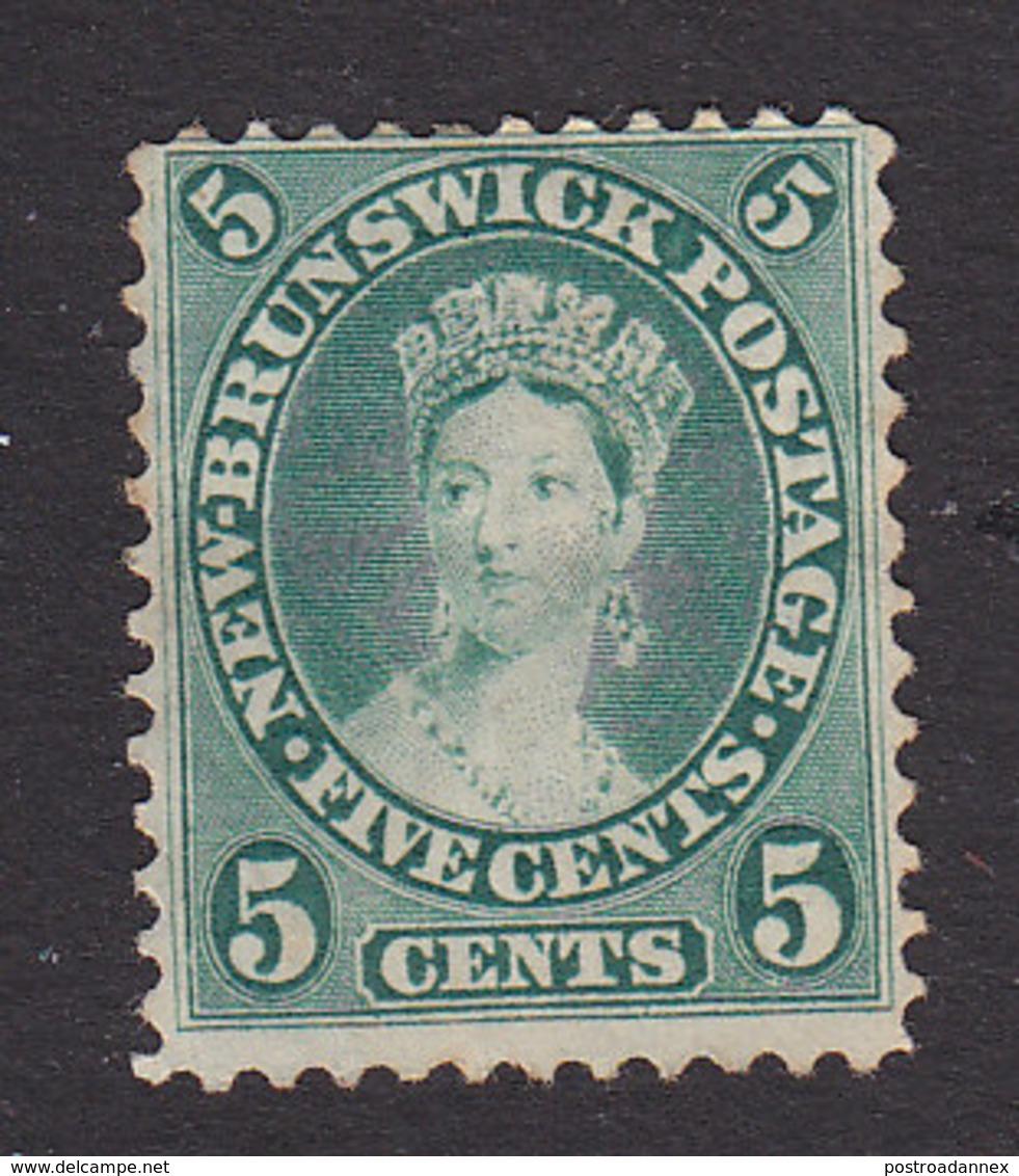 New Brunswick, Scott #8a, Mint No Gum, Victoria, Issued 1860 - New Brunswick