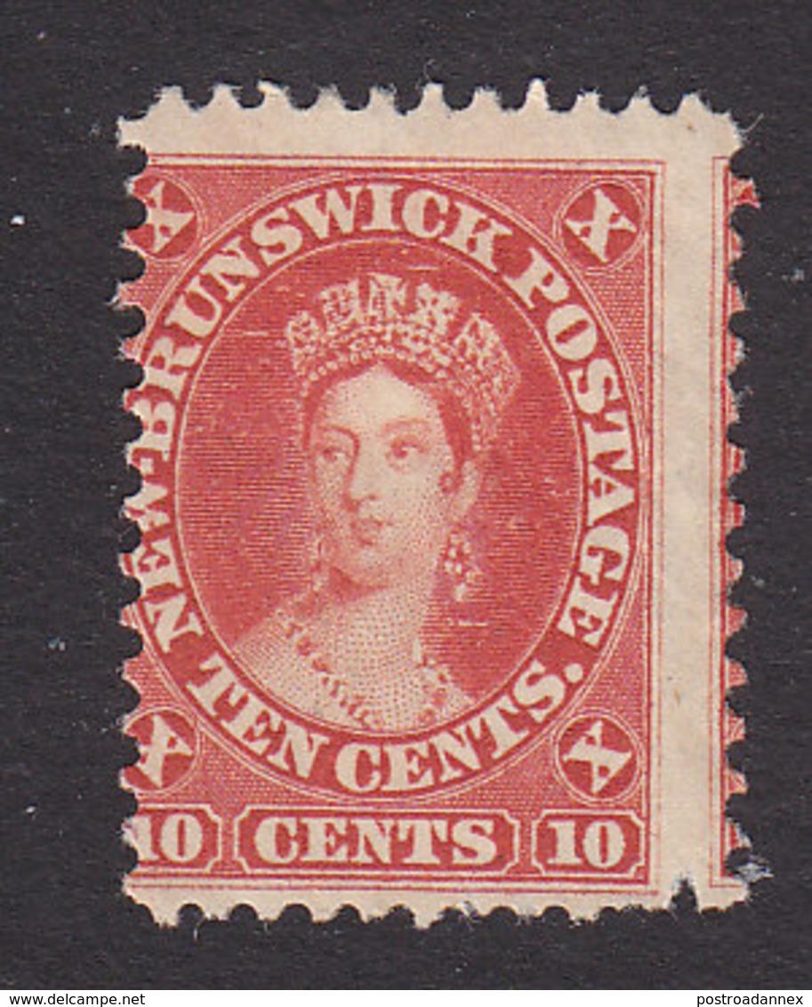 New Brunswick, Scott #10, Mint Hinged, Victoria, Issued 1860 - New Brunswick