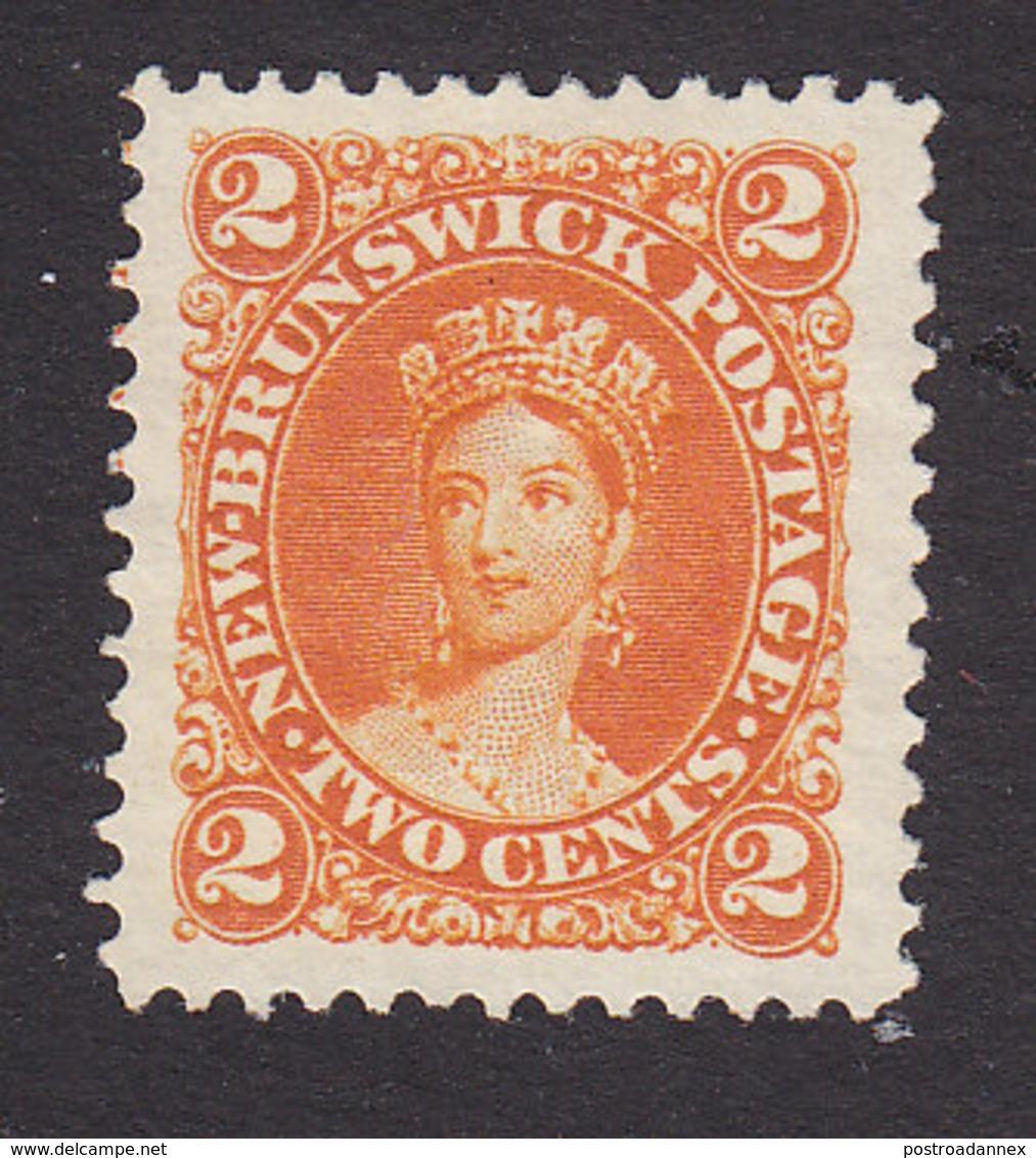 New Brunswick, Scott #7b, Mint No Gum, Victoria, Issued 1863 - New Brunswick