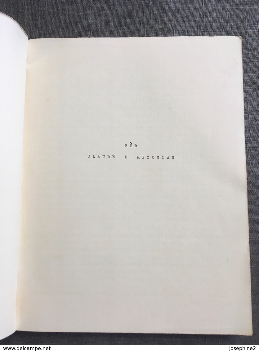 Charles Mauron ESTUDI MISTRALEN 1954 Edition Originale - Livres, BD, Revues