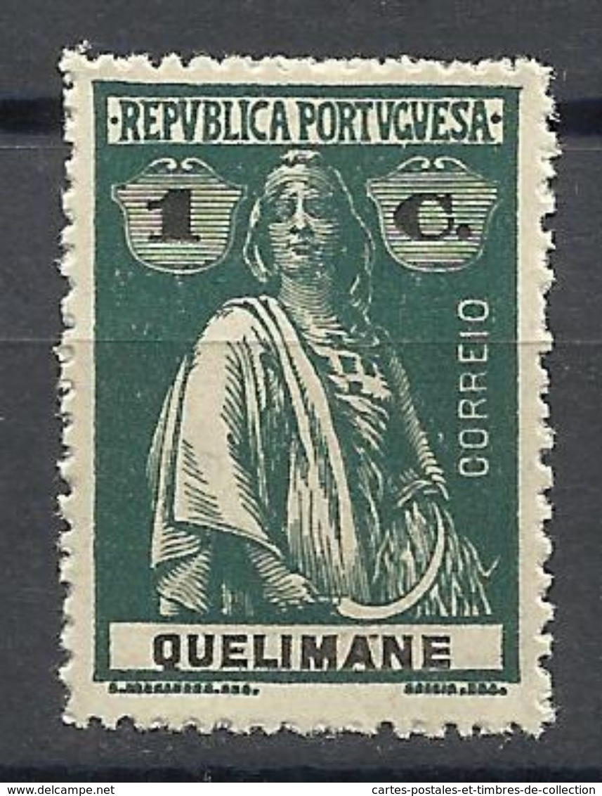 QUELIMANE , 1 C , Types Cérès , 1914 , N° YT: 27 ** - Quelimane
