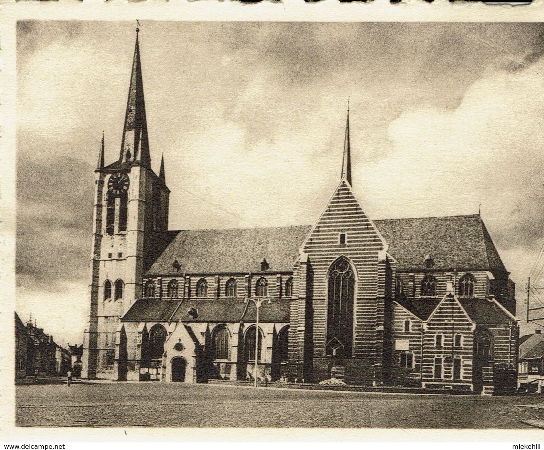 GEEL-MINI-CARTE-St.AMANDUSKERK - Geel