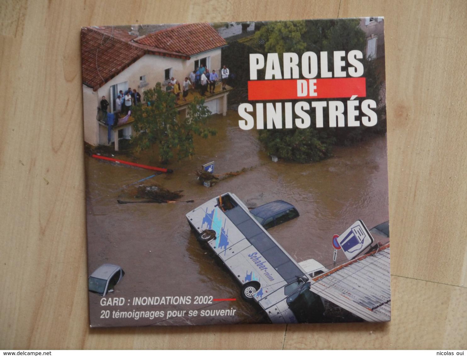 PAROLES DE SINISTRES GARD INONDATIONS 2002  C D CD - Sonstige