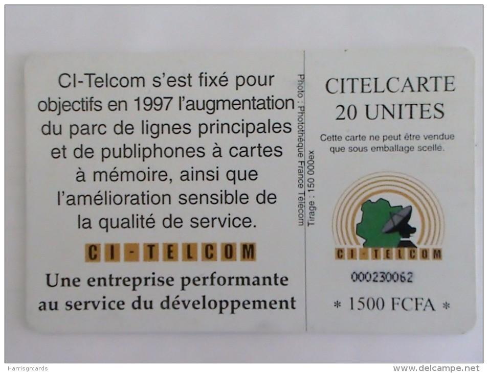 IVORY COAST - Telephone, Chip Delphic, Used - Ivoorkust