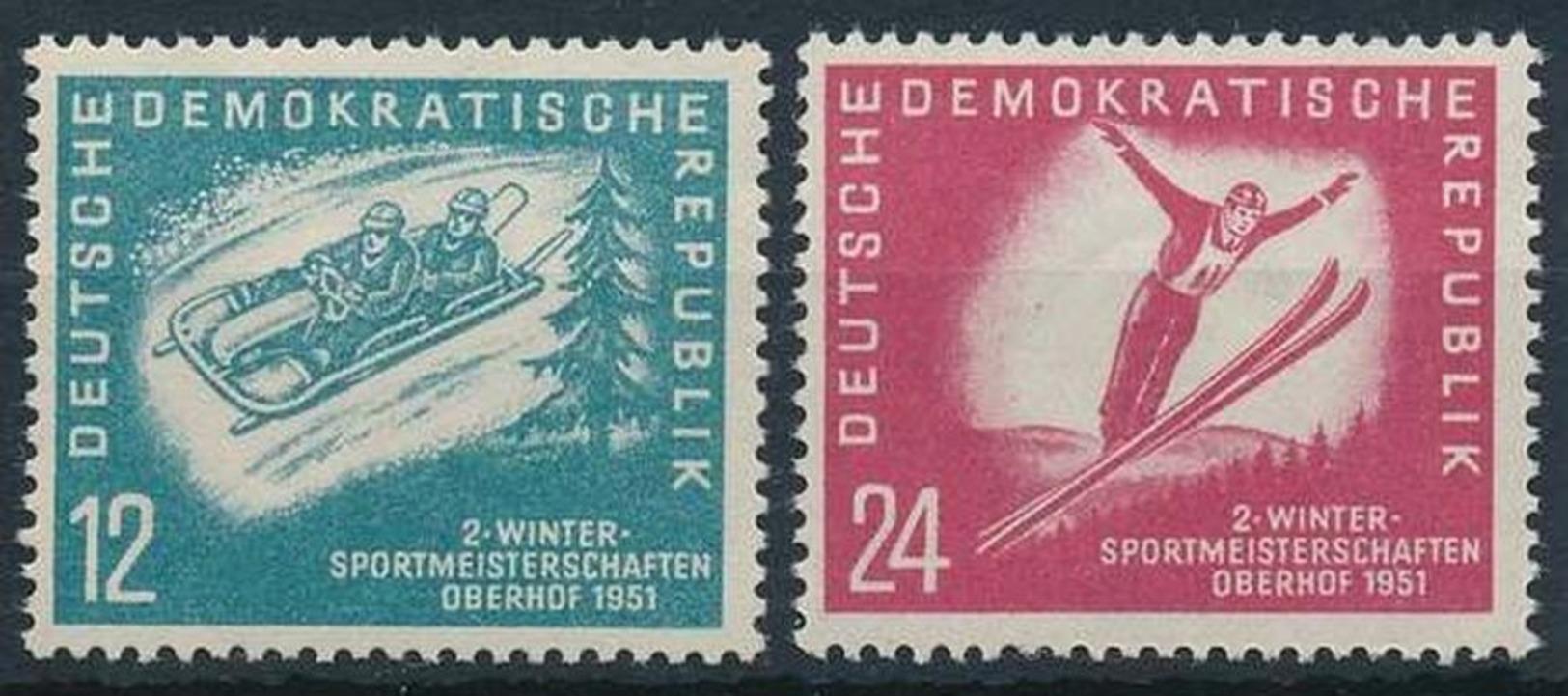 Nr. 280-281 Postfrisch Michel 20 € - DDR