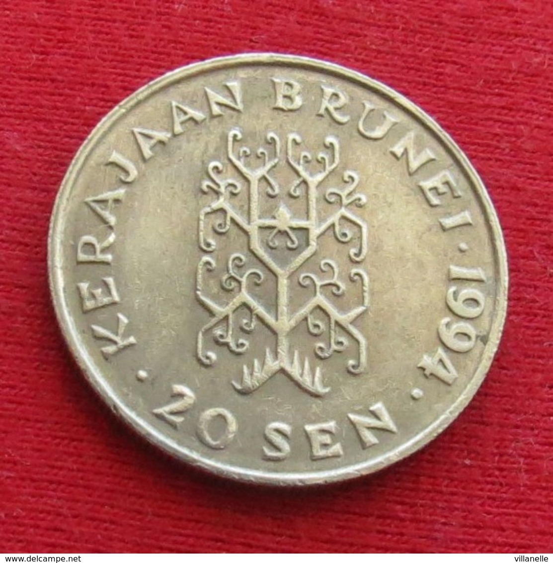 Brunei 20 Sen 1994 KM# 37 - Brunei