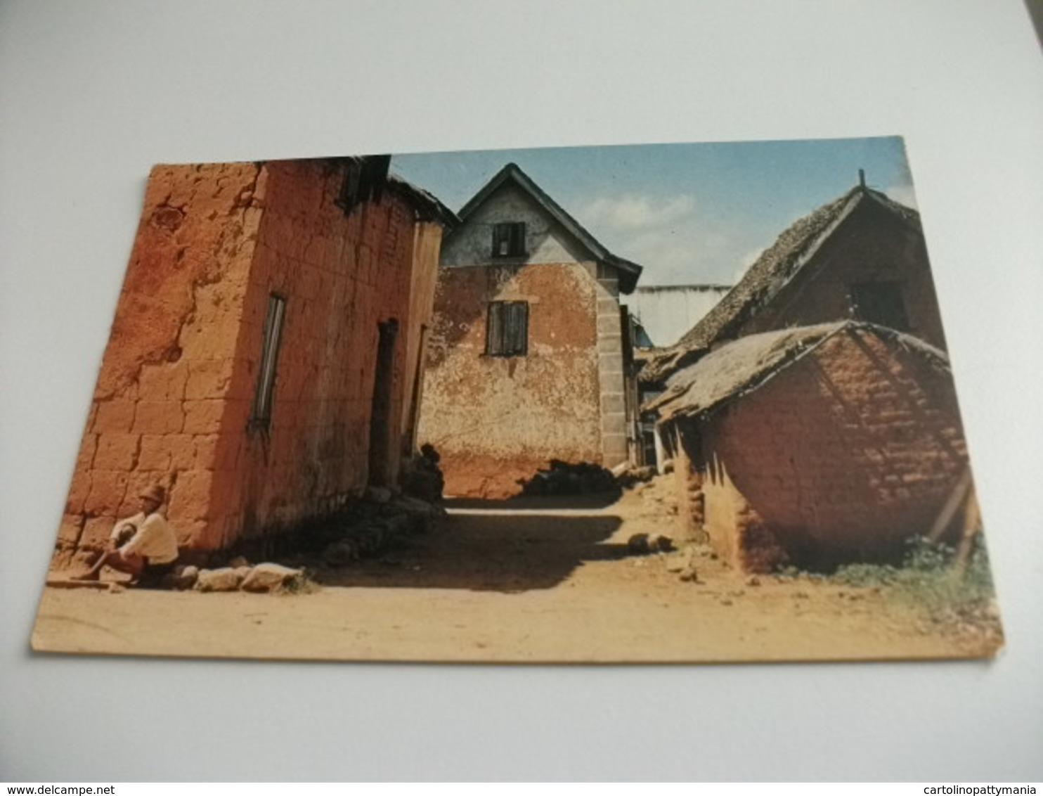 STORIA POSTALE FRANCOBOLLO COMMEMORATIVO MALAGASY MADASCAR LES ENVIRONS DE TANANARIVE - Madagascar